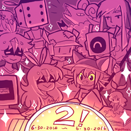 Oneshot turns 2 by nightmargin-da8t4tp