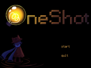 Oneshot original game title