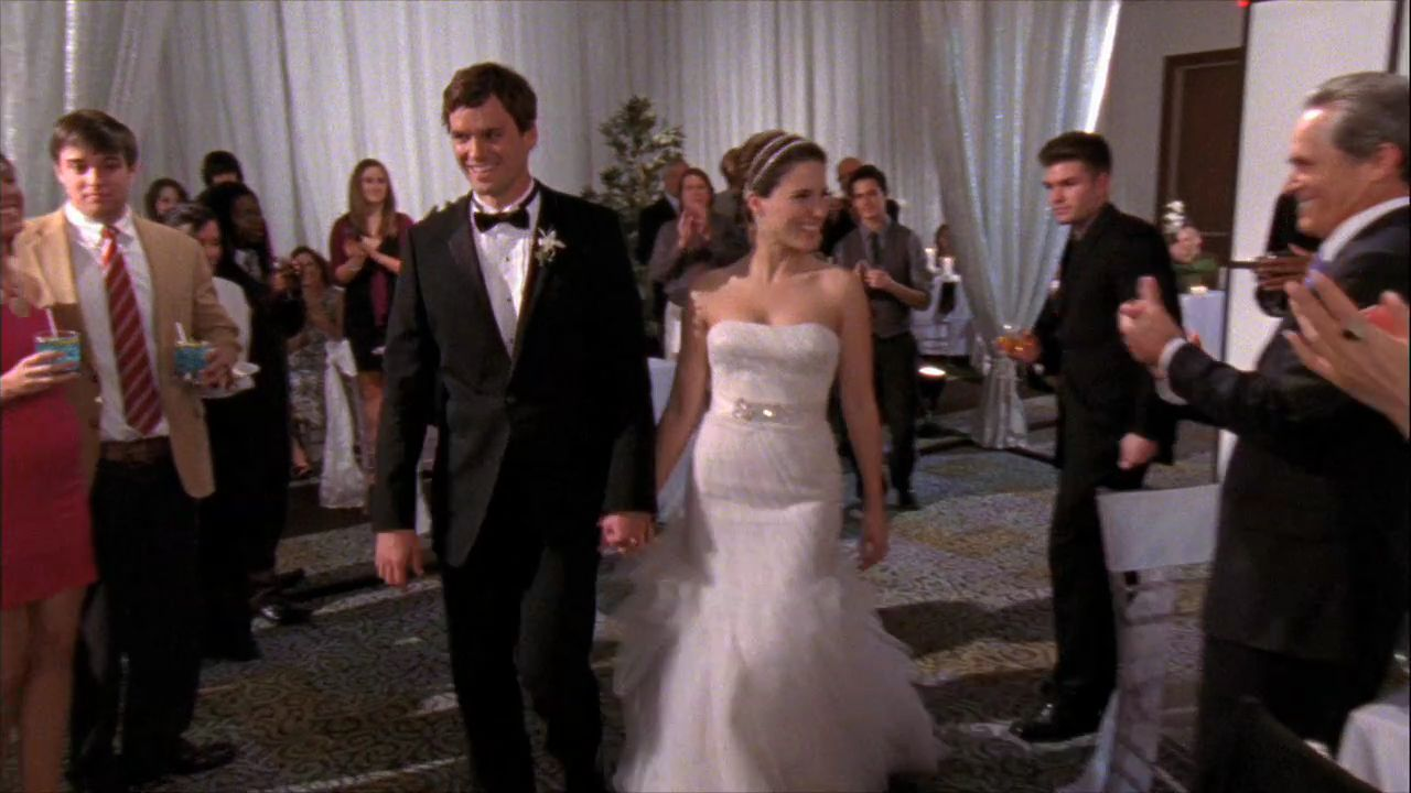 the wedding of brooke davis and julian baker | one tree hill