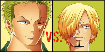 Zoro and sanji by