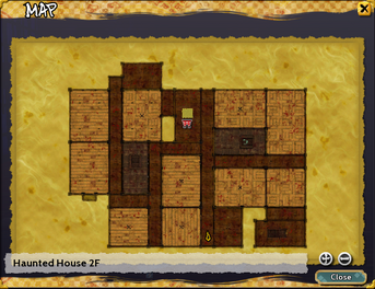 Haunted House Second Floor