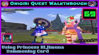 Onigiri Quest Walkthrough - Using Princess Kijimuna Summoning Card - Part 69🐲