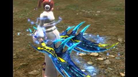 Uryuu Twin Feather - Rain Water