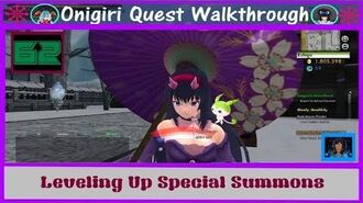 Onigiri Quest Walkthrough - Leveling Up Special Summons - Part 62🐲