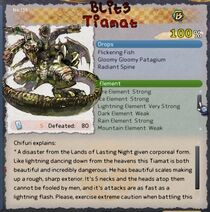 Blitz Tiamat card