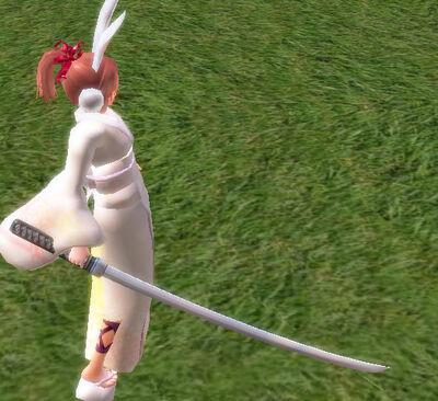 Hakujin Sword