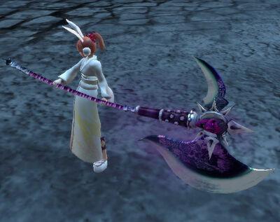 Rending Moon Crimson Hannya