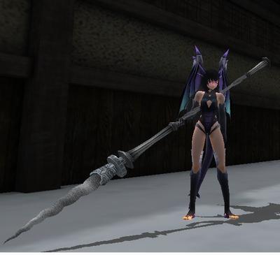 Silver Arrowroot Spear