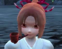Crimson Daruma Pipe