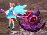 Hajuma Evil Eye Axe - Chaos Pupil