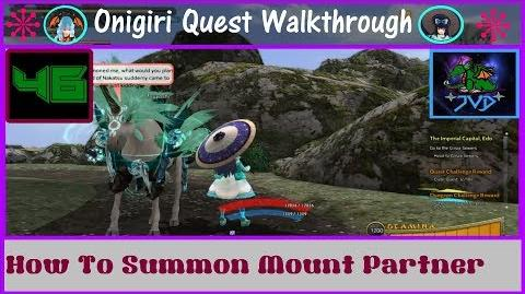 Onigiri Quest Walkthrough How To Summon Mount Partner Part 46🐲