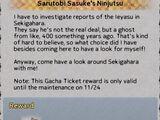 Sarutobi Sasuke's Ninjutsu