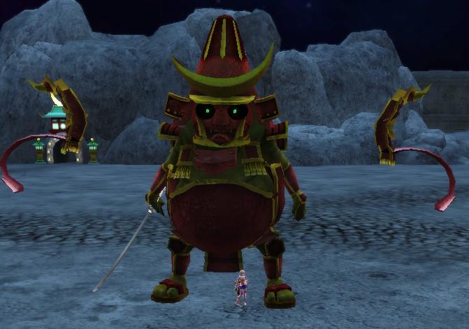 Huge Onimusha (Red)