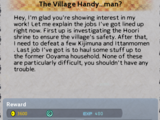 The Village Handy ...man?