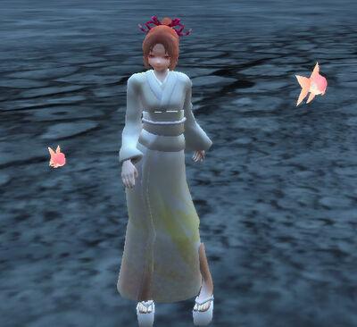 Pale Scarlet Goldfish