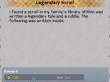 Legendary Scroll