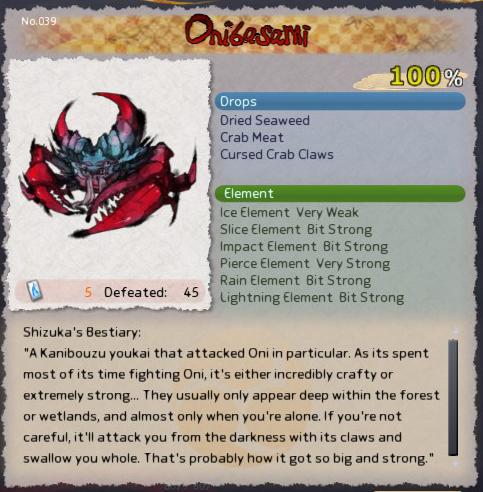 Onibasami card