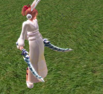 Ice Arawashi Twin Blades