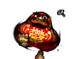 Gloom Daruma