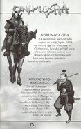 Oda and Toyotomi's bios