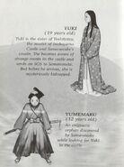 Yuki and Yumemaru's bios