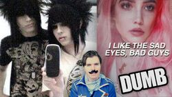 Bands with dumb lyrics