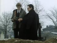 Grandad Trotter's funeral