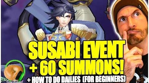 ONMYOJI Susabi Event, 60 Summons, and How to Do Dailies (for beginners)