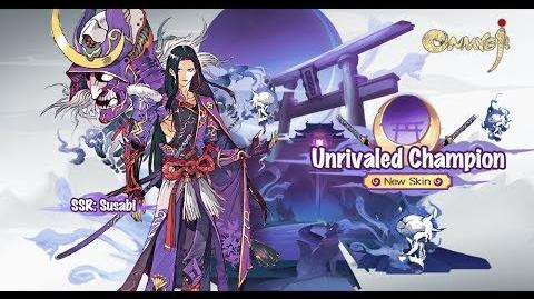 New Skin Available - Susabi - Unrivaled Champion - Onmyoji
