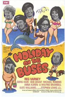 Holiday On The Buses (movie) poster