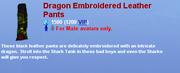 DragonEmbroideredLeatherPants