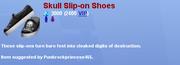 SkullSliponShoes