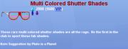 Multicoloredshutter