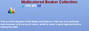 Multicolored Beaker Collection