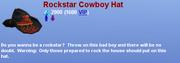 Rockstar Cowboy Hat