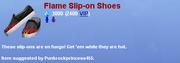 FlameSliponShoes