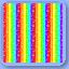 Rainbowstripecandyrug