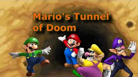 Halloween 2014 Mario's Tunnel of Doom (Very Scary)