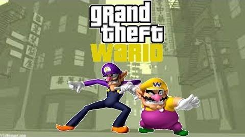 Super Wario 64 Bloopers Grand Theft Wario