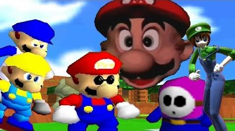 SM64 Bloopers Shy Guy Island