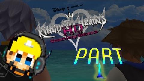 Calamari Anybody? - Kingdom Hearts Dream Drop Distance HD Part 1