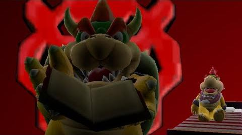 SM64 Bloopers Bowser's Story Time