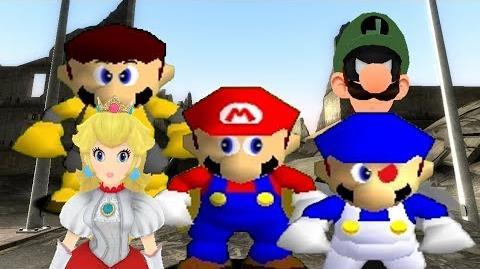 SM64 Bloopers The Mushroom League