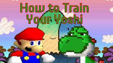 SM64 Bloopers How to Train Your Yoshi