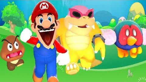 SM64 Bloopers Mario Star Allies