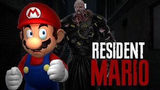 Resident Mario Nemesis - OnyxKing Halloween 2020
