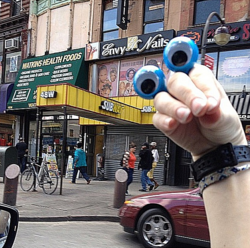 Oobi Hand Puppet in New York City