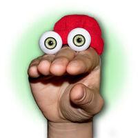Oobi Kako hand puppet eyes