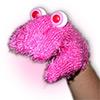 Oobi Eyes - Furry Pink Monster