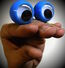 Oobi Hand Puppet - Blue Googly Eyes